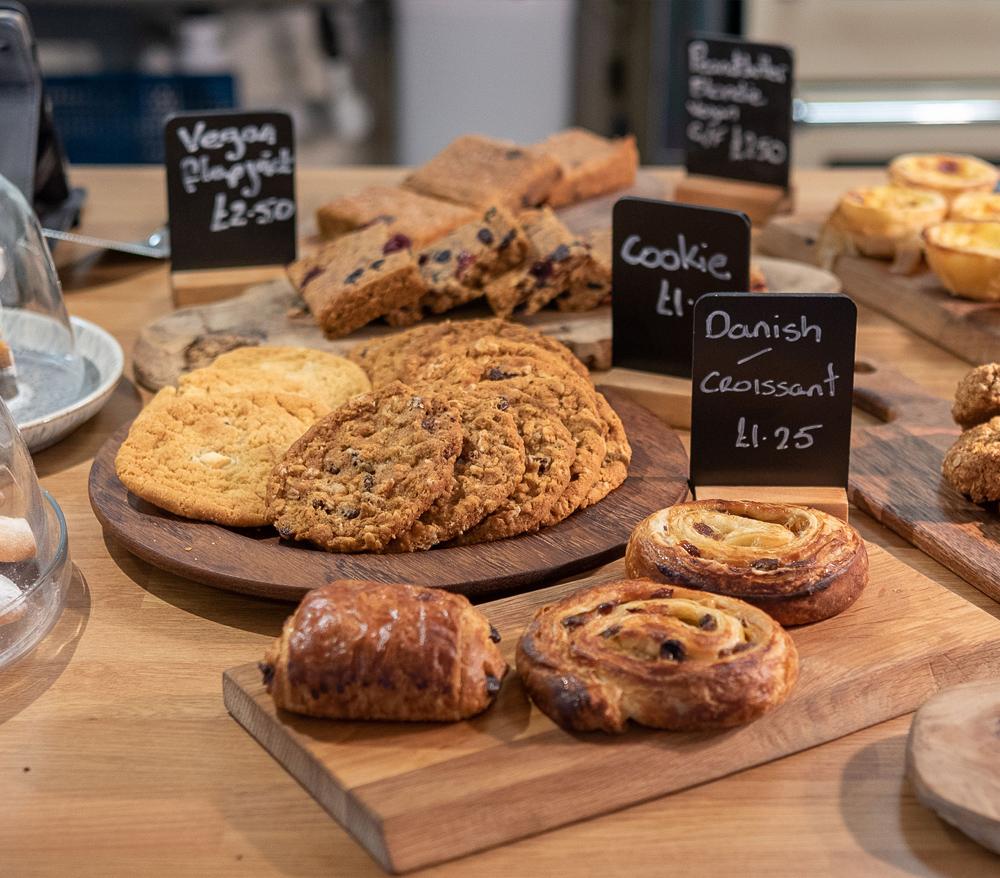 V Café pastries