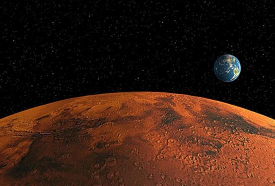 A View of Mars - GI 19 667