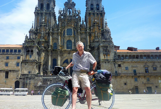 A Bicycling Pilgrim's Progress - From Guildford to Santiago de Compostela (T242)