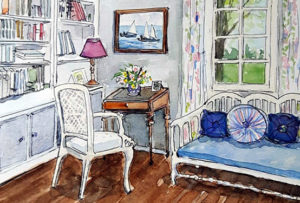 Interiors in Painting