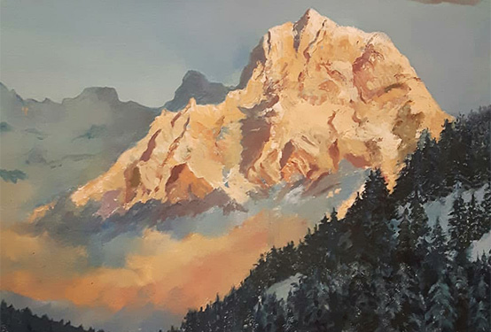 Painting Mountains and Rocky Landscapes