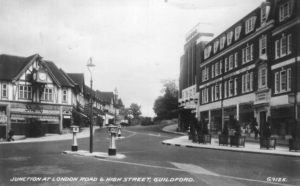 Guildford at the start of the Second World War