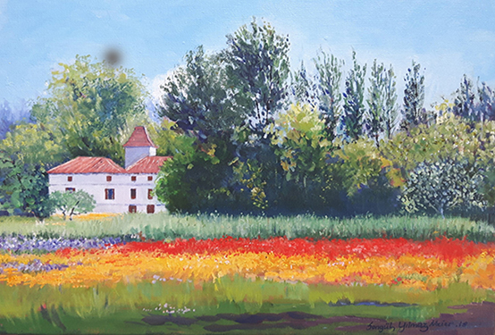 Painting Landscapes with a Summer Palette
