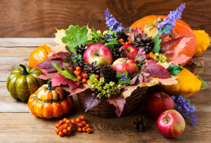 Autumn Flowers – Table Arrangement