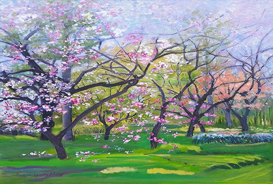 Landscapes Series: Spring Blossoms - GI 20 850