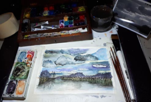 Core Skills- Watercolour- Landscape Art