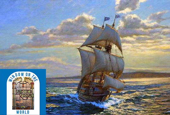 The Weaver, the Shoemaker and the Mother of a Nation: Surrey's Mayflower Pilgrims T268