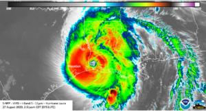Hurricane Laura Aug 2020